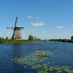 Nederland – Kinderdijk