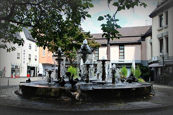 Elwedritsche-Brunnen Neustadt in der Pfalz