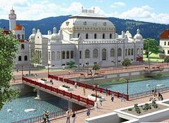 Projekto de renovigo de la cazino en Vatra Dornei