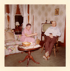 Snacking in the Living Room, 1960