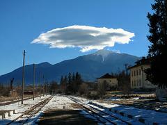 From Bansko Train Station