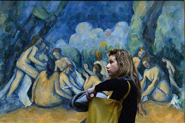 Les Grandes Baigneuses by Cezanne (13 January 2015)