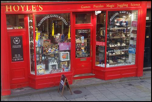 Hoyle's magic shop