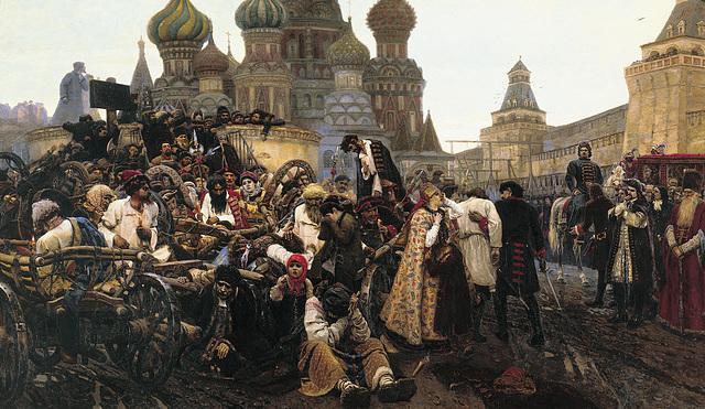 L'Exécution des Streltsy sur la Place Rouge