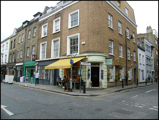 Bermondsey Street cafe