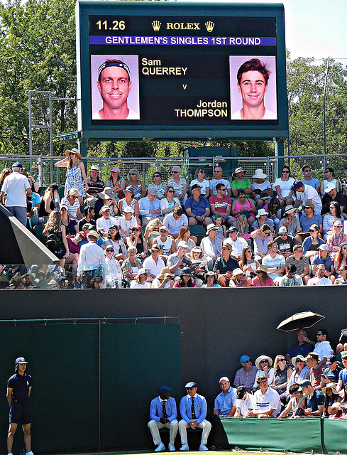 Querrey vs Thompson
