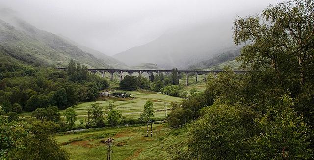 Glen Finnan ( Ferrovia  di Harry Potter)