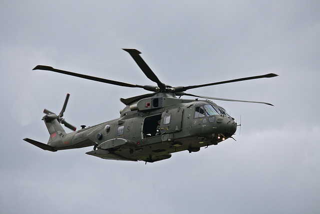 Royal Air Force  AgustaWestland AW101 Merlin Helicopter