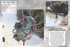 Tide Mills Natural Calendar by Christian Funnel