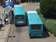 DSCF4509 Arriva the Shires KX09 GYT and LJ51 DLG in Welwyn Garden City - 18 Jul 2016