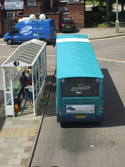 DSCF4508 Arriva the Shires KX09 GYT in Welwyn Garden City - 18 Jul 2016