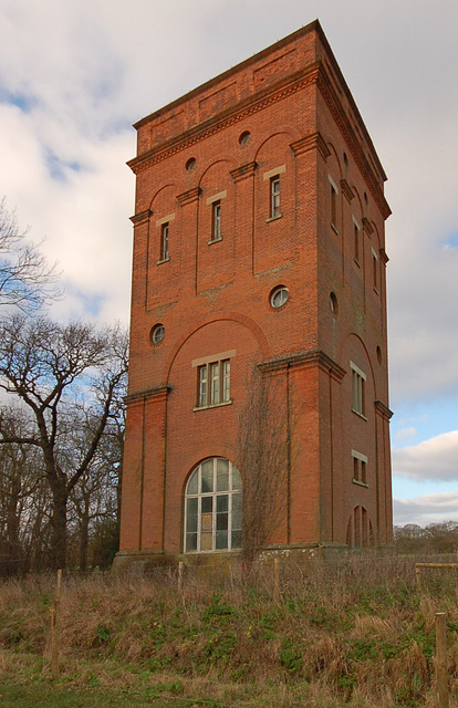 Water Tower, Benacre Hall, Suffolk
