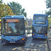 DSCF4789 Gas and Electric buses in Nottingham - 13 Sep 2018