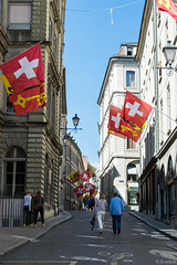 durch die Altstadt von Genf/Genève (© Buelipix)