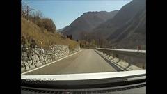 Video. Von Molina am Lago di Ledro bis kurz vor Riva del Garda. ©UdoSm