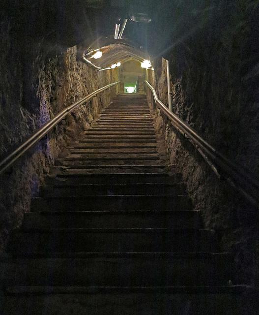 Treppe zum Gewölbe