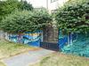 Der Zaun mit Mural