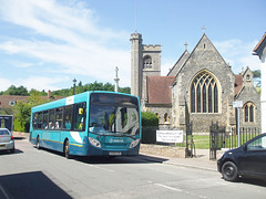 DSCF4485 Arriva the Shires KX09 GYB in Welwyn - 18 Jul 2016