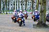 Royal Marechaussee on Yamaha bikes