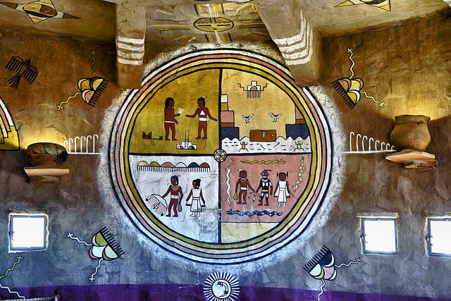 The Physical and the Spiritual Basis of Hopi Life – Watchtower, Desert View, Grand Canyon, Arizona