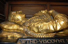 Memorial to Viscount Ingestre, Ingestre Church, Staffordshire