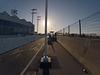 Alexander Zuckermann Bicycle-Pedestrian Path bus stop (0104)