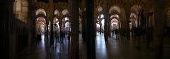 Inside Mezquita de Córdoba