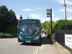 DSCF4483 Arriva the Shires KX09 GYB in Welwyn - 18 Jul 2016