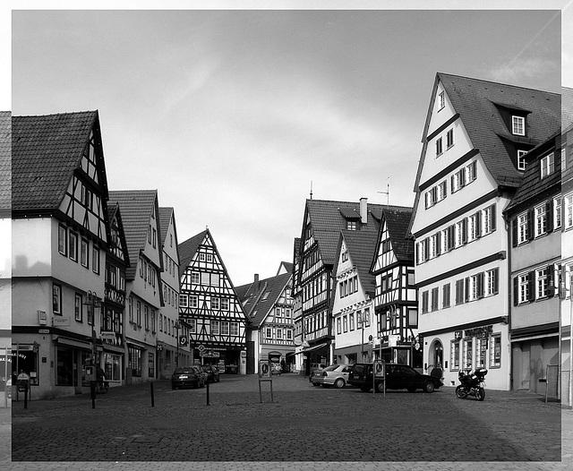 Leonberg - Marktplatz
