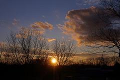 Sunset, January 18th, 2020