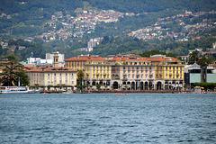 Teil der Seepromenade von Lugano