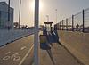Alexander Zuckermann Bicycle-Pedestrian Path bus stop (0104A)