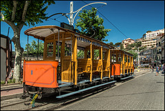 Historische Straßenbahn Port de Sóller - Sóller