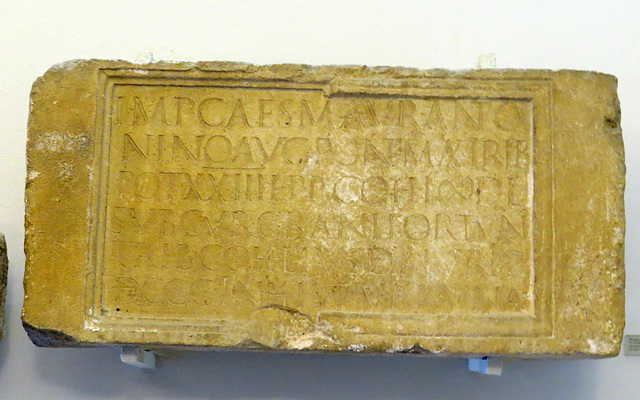 Musée archéologique de Split : CIL III, 1979, p. 1509, 2135.