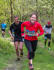 Who says, 'runners never smile'?