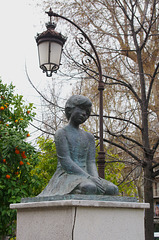 Solitude, at Plaza de Bibataubin, Granada