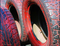 coloured tires