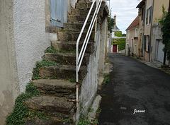 Petite rue dans La Chatre