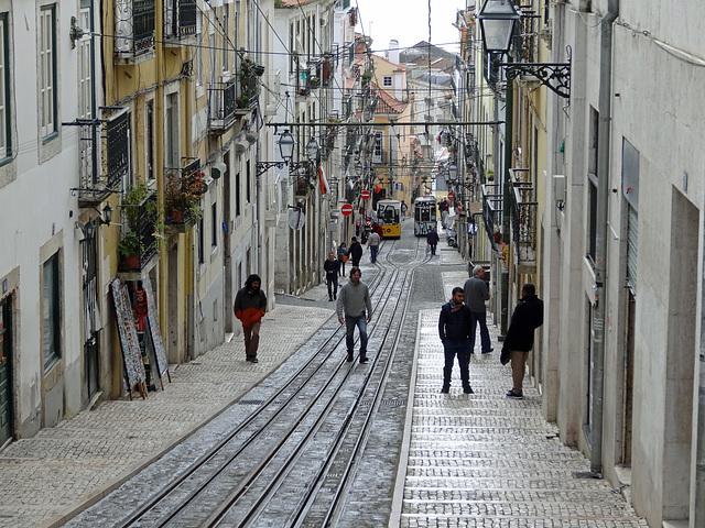 Street in Lisbon.