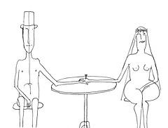 La najlo (karikaturo de Ungerer)