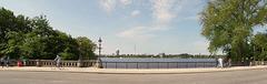 HFF von der Schwanenwik Brücke