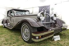 A tidy Buckingham Jaguar powered kit car at Brooklands Museum, Historic Car Auction