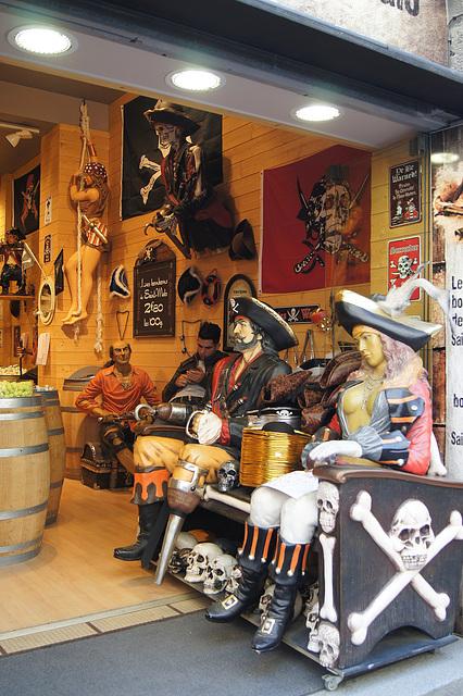 Saint Malo boutique de bonbons