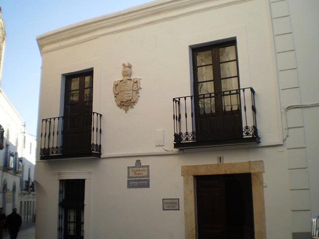 House façade.