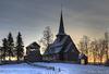 Hegge stave church.