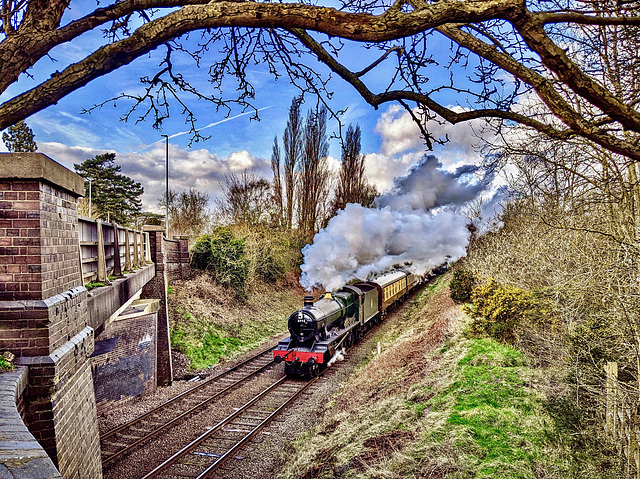 Great Central Railway Loughborough Leicestershire 26th February 2020