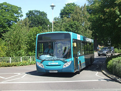 DSCF4479 Arriva the Shires KX09 GYB in Welwyn Garden City - 18 Jul 2016