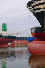 New ships under construction in DSME