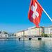 auf der Pont du Mont-Blanc, Genève/Genf (© Buelipix)