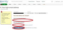 2.3 voer nieuwe e-mail in